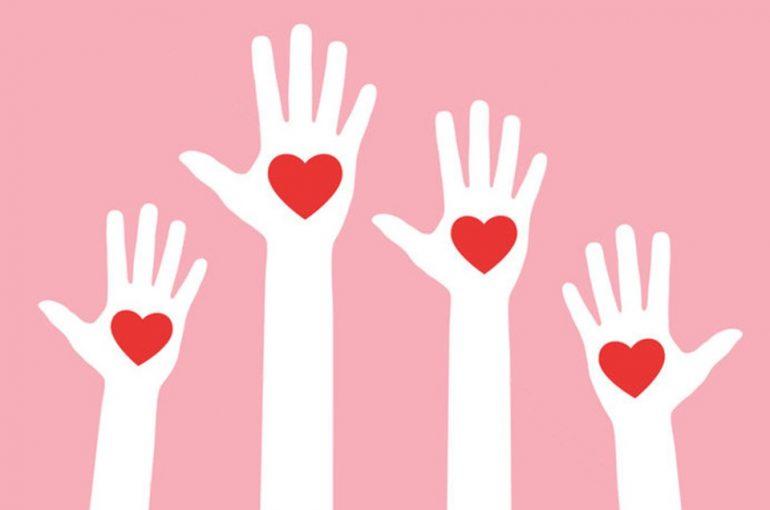 avoir le coeur sur la main dans ses feedback positif